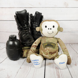 Military Keepsake Monkey