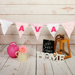 Baby Clothes Keepsake Bunting