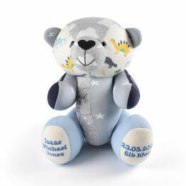 Baby Grow Keepsake Bear - Baby Boy