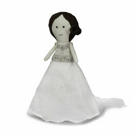 Wedding Dress Keepsake Doll