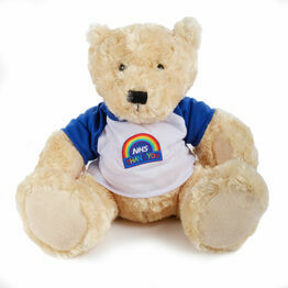 Personalised 'Thank You NHS' Teddy Bear