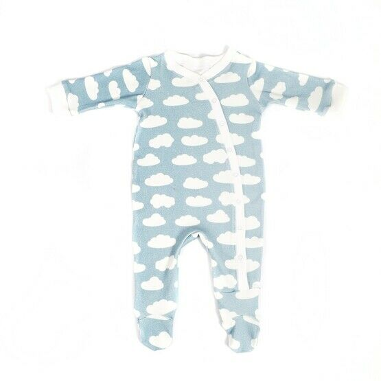 Blue/White Clouds Babygrow